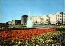 MAGDEBURG Sachsen-Anhalt DDR Postkarte um 1966 ungelaufen Gebäude und Brunnen