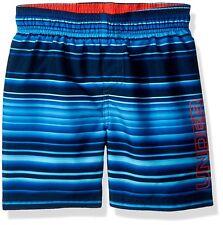 bfd9de8fd4 Under Armour Boys' Gradient Stripe Volley Boardshorts Short Size 7 Academy