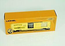 LIONEL # 6-9434 JOSHUA COWEN THE MAN 40' RAILROAD FREIGHT BOX CAR Train Car
