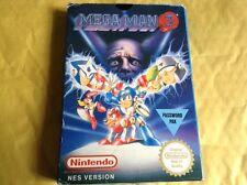 Carro De Juego Nintendo Nes Mega Man 3 COMPLETO EN CAJA RARO PAL región