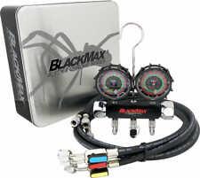 "CPS BlackMax® MBH4P5EZ R134a, R22, R410a, R404 Manifold w/ 60"" Ball Valve Hoses"
