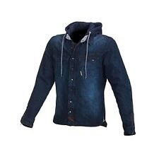 MACNA West Coast Motorcycle Hoody Denim Kev Blue Medium