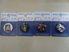 Kurt Cobain/4 Badges Anstecker 25mm/Button