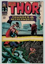 The Mighty THOR 130 Hercules guest appear early Lee Kirby Silver 1966 FN FN+