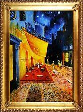 Vincent van Gogh - Nachtcafe -105x75-Ölgemälde Handgemalt Leinwand G02485