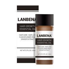 LANBENA Powerful Hair Growth Essential Oil Treatment anti Hair Loss Hair Care