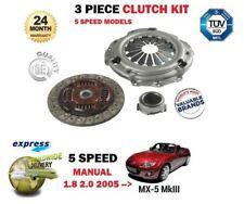 Per Mazda MX5 MX-5 5 velocità manuale 1.8 2.0 L8 LF 2005 - > NUOVO 3 Pezzi Kit Frizione