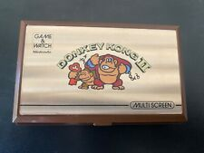Nintendo Game and Watch Donkey Kong 2 Vintage  LCD Hand Held  Game