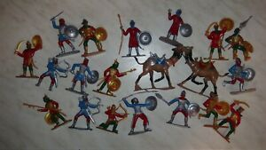 toys soldiers PAINTED Saracens crusaders knights 1/32,54mm