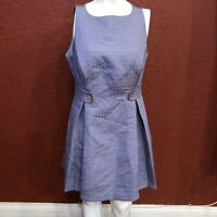 MODCLOTH DRESS FIT AND FLARE SLEEVELESS PURPLE LAVENDER SIZE 1X