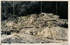 POINTE NOIRE 1934 - Banc des Abeilles Travaux Chemin de Fer  - Congo  PCH 230