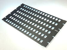 AMP NETCONNECT Communication 96 Port Feed Through Unloaded Patch Panel Cover 6RU