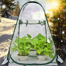 Mini Portable Greenhouse Outside Inside Plant Cover Green House Plants Patio DIY
