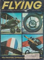 Flying Magazine (Jan 1966) (Antiques, EAA Rockford, Goodyear Blimp, Swift 125)