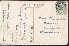 Genealogy Postcard-Family History - Varndell - Church Rd - Chrowthorne MB2132