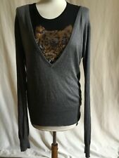 Pull soie et cachemire AMERICAN VINTAGE taille S comme neuf.