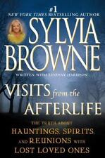 VISITS FROM THE AFTERLIFE by Sylvia Browne FREE SHIPPING paperback book medium