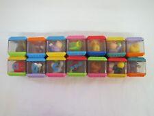 14 Fisher Price PEEK A BLOCK Blocks Visual Tactile Development CIRCUS Lot #2