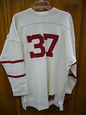 Cornell University Throwback Football Sweater Size XL Made in Canada Stall&Dean