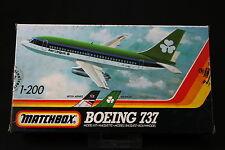 YM049 MATCHBOX 1/200 maquette avion 40803 Boeing 737