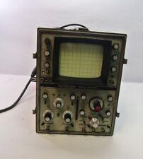 HP AN/USM-281A Oscillopscope, OS0189A(P)/USM-281, 1 Bad Channel, Vintage