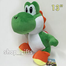 Super Mario World Yoshi's Island Plush Yoshi Soft Toy Stuffed Animal Teddy 13""