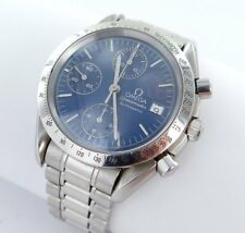 Omega Speedmaster Chronograph Automatic Men's Watch Steel Papers