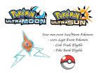 Pokemon Ultra Sun and Moon Line Rotom Japanese Event Pokemon w/ Disarming Voice
