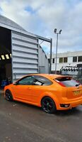 Ford Focus ST-3 2007 Orange, Rare Sunroof, 96,000 miles, 3 door, Minted
