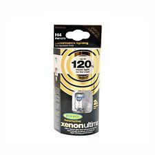 RING H4 XENON ULTIMA HEADLIGHT BULBS 120% MORE LIGHT