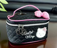 New Hellokitty Cosmetic bag make up Case LM5501a9  Black