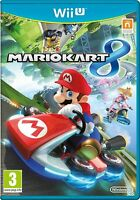 NINTENDO WII U MARIO KART 8 - Excellent - 1st Class FAST & FREE Delivery