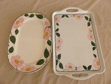 Villeroy&Boch Wild-Rose Servierplatte und Tablet aus Kunststoff
