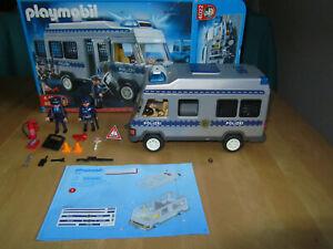 PLAYMOBIL Polizei Mannschaftswagen 4022 mit elektronischem Blaulicht*TOP