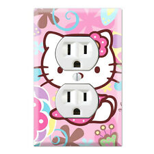 Hello Kitty Decorative Duplex Receptacle Outlet Wall Plate Cover HK06