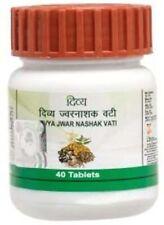 Patanjali Ayurved Divya Jwarnashak Vati 40Tab (500mg) Fine 100% Natural Product