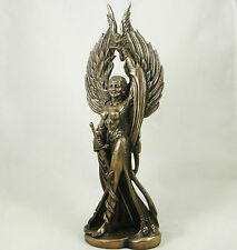 Celtic Phantom Queen 'MORRIGAN' Goddess of Battle Bronzed Figure Statue Figurine