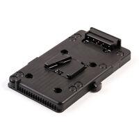 V mount V-lock D-Tap BP Battery Plate Adapter for Sony DSLR DV SLR Video Camera