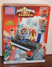 Mega Bloks Power Rangers SUPER SAMURAI 5824 CLAW BATTLEZORD Vs. MOOGER NIB