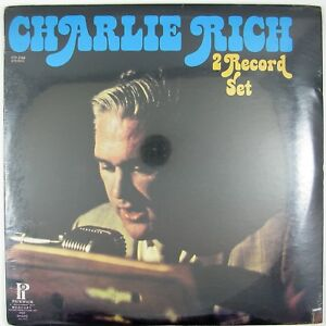 CHARLIE RICH Charlie Rich 2LP 1973 COUNTRY ROCK STILL SEALED/UNPLAYED