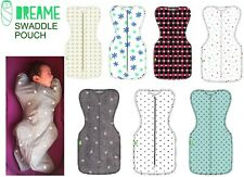 SALE DREAME Swaddle Pouch Newborn baby arms up sleeping bag