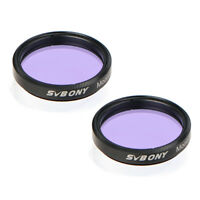 2x SVBONY Moon Filter For 1.25 /31.7MM Telescope Eyepiece Moon Planets Filters