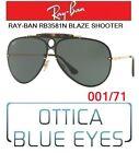 Occhiali da Sole RAYBAN RB3581 BLAZE SHOOTER 001/71 Sunglasses Ray Ban Flat lens