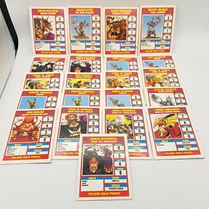 21 Star Player Cards - 1994 Games Workshop Blood Bowl Supplement Death Zone