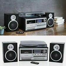 Kompaktanlage Musikanlage DAB+ Encoding Plattenspieler Usb Kassette CD RADIO S.
