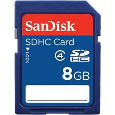 Lot of 50 x SanDisk 8GB SDHC Class 4 SD Flash Memory Card Camera SDSDB-008G-B35