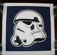 STAR WARS Stormtrooper STICKER art from poster print Hydro74