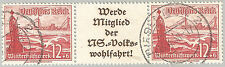 Deutsches Reich Zdr.-MiNr S 244 - W 134 WHW Schiffe Diverse Varianten in ° + **