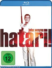 Hatari [Blu-ray] John Wayne, Hardy Krüger, Elsa Martinelli * NEU & OVP *