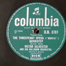 78rpm VICTOR SYLVESTER threepenny opera theme / no not much